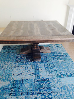 Salvaged Single Pedestal Table
