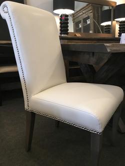 Roll Back Parson chair