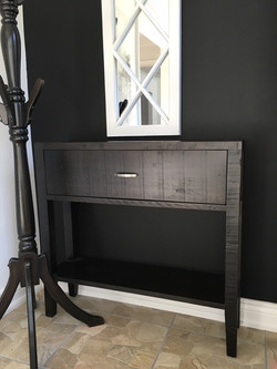 Rough Sawn Entry Table