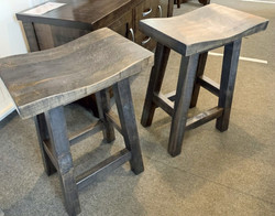 "24"" saddle stools"