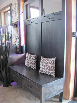 Entryway Bench W/ Drawers