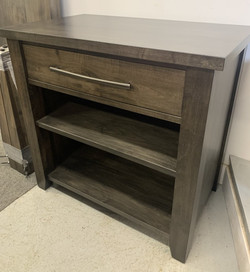 Maple Console with shelves