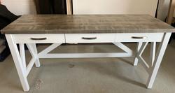 V frame desk 3 drawer