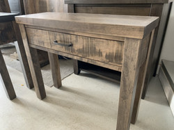 Small Rustix thick top sofa table