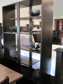 Staggered Shelves