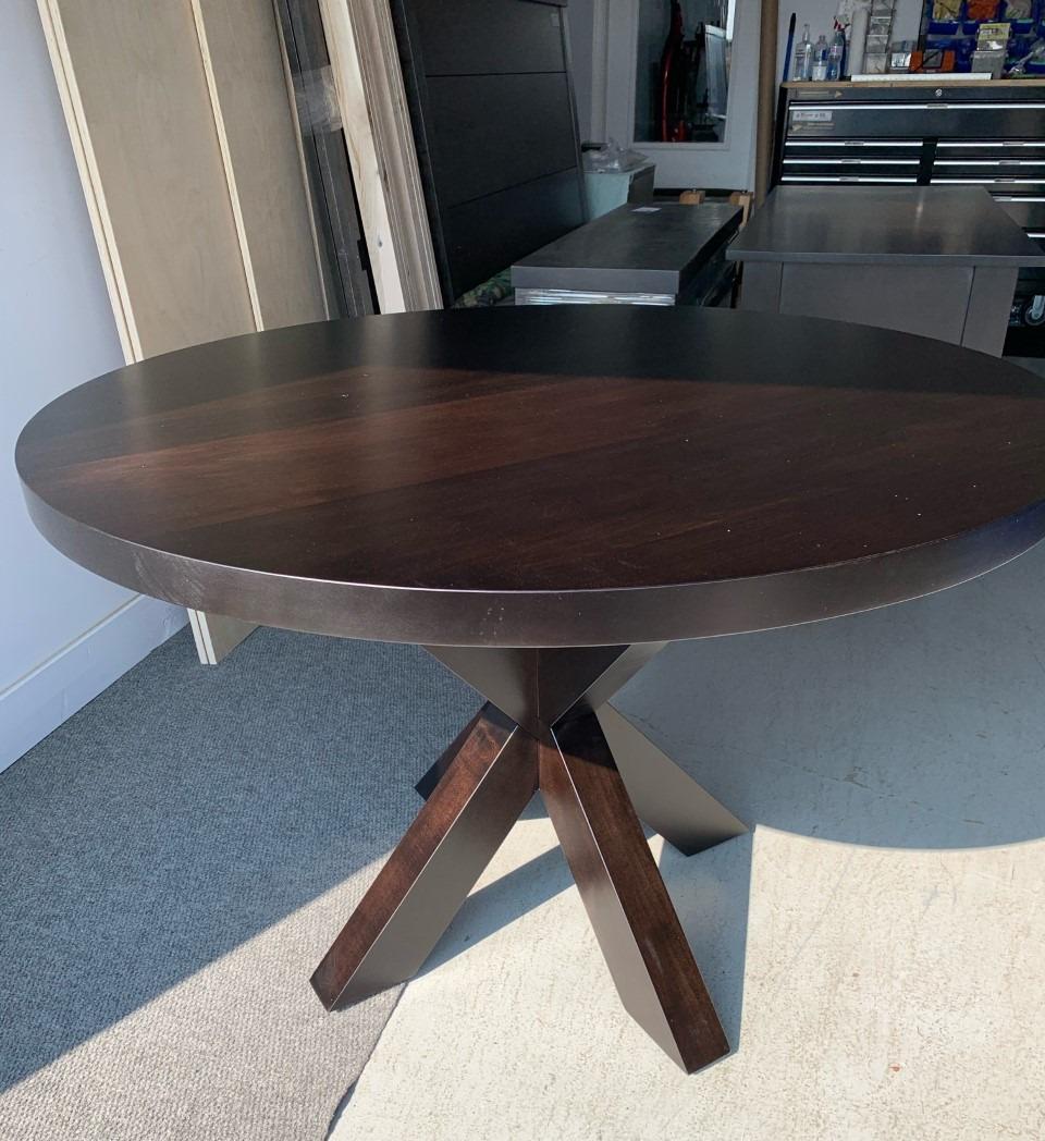 Round wood Hedgehog base