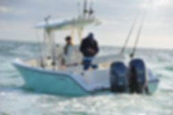 buy a off shore fishing boat, perfect for family and sportsman alike