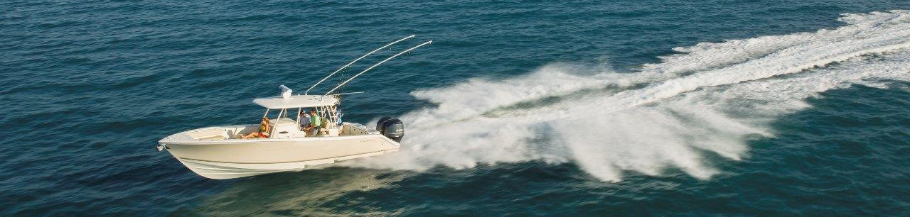 Powered by Yamaha Outboards