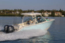Cobia's 280 dual console - bow rider