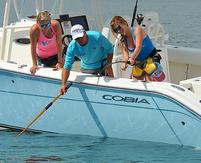 Fishing ready - inshore or offshore