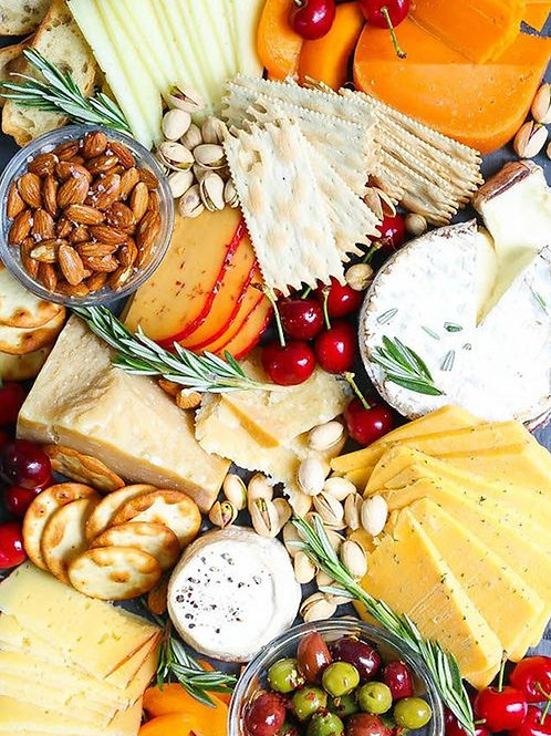 CHEESE BOARDwith all extras