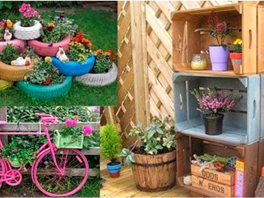 Decora tu hogar con materiales reciclables