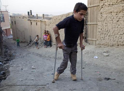 Crece el número de personas infectadas por Poliomielitis