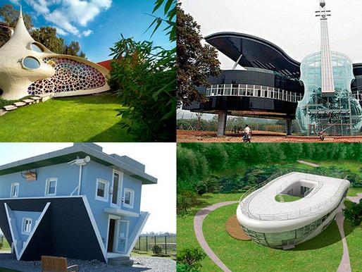 Las 10 casas más extrañas del Planeta