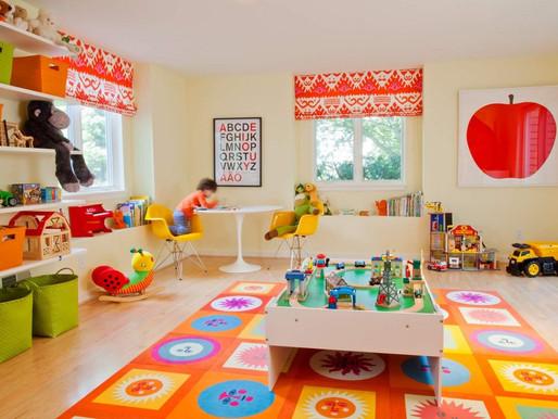 ¿Cómo crear en Casa un espacio exclusivo  para el Juego de los Niños?
