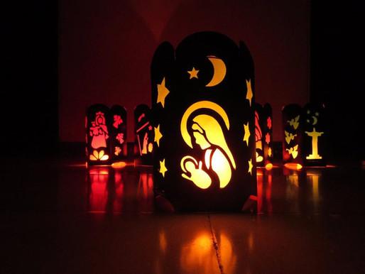 Ideas Originales para iluminar tu casa  con Faroles Caseros en la Noche de Velitas