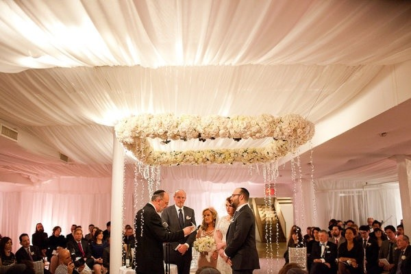 Suspended floral chuppah_ Love_ Photography by da.jpg