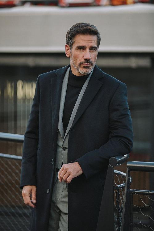 Manteau Cashmere noir FERAUD