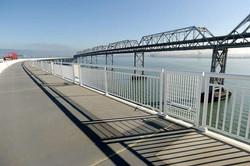 Bay Bridge Bike Lane Guardrail