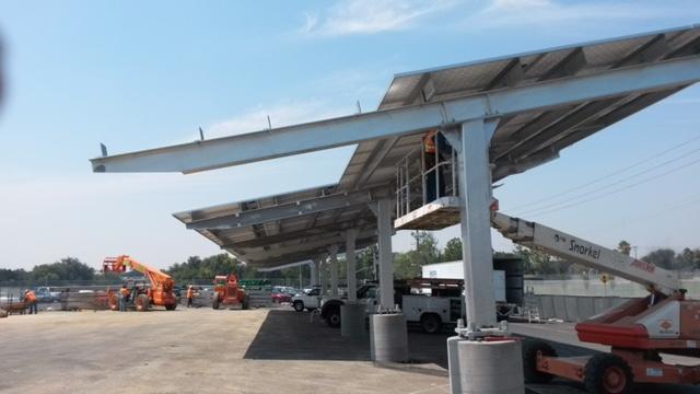 Solar Canopies