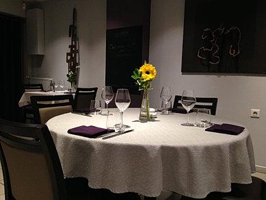 Restaurant mise en scene montbrison - Mise en place table restaurant ...