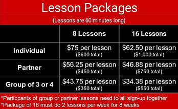 Lesso Package Pricing
