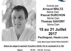 Stage à Paulhaguet