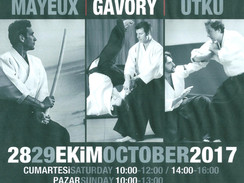 Stage à Istanbul, les 28 et 29 octobre 2017