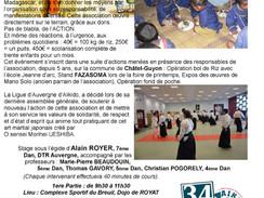 Stage de rentrée à Royat et Clermont-Ferrand, le 16 sept. 2017,avec Alain Royer, Thomas Gavory, Mari