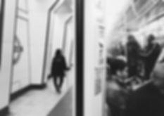 streetphotography London underground photographed by Anja Schwenke alias PHOTO MOTIF