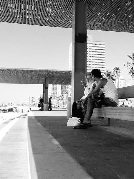 streetphotography Israel Tel Aviv photographed by Anja Schwenke alias PHOTO MOTIF
