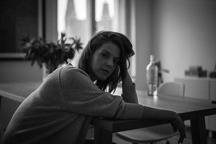 Franziska portrait #5 photographed by Anja Schwenke alias PHOTO MOTIF