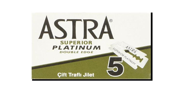 CUCHILLAS ASTRA PLATINIUM 20x5