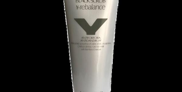 Y- REBALANCE BLACK SCRUB 250 ml