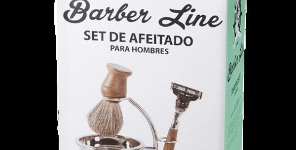 SET DE AFEITADO BARBER LINE