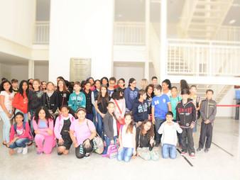 Alunos do 6º ano da EE Laert de Almeida visitam a Câmara