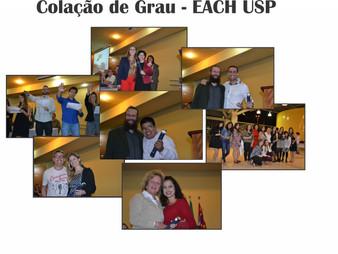 Fotos - Colação de Grau EACH USP
