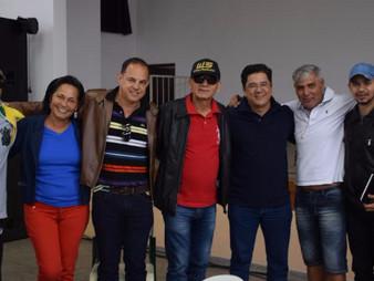 Vereador Onishi acompanha visita de prefeito de Cansanção em Taboão da Serra