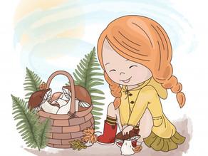 Flora, a menina do moletom amarelo!