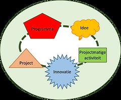 Het projectportfolio van een organisatie