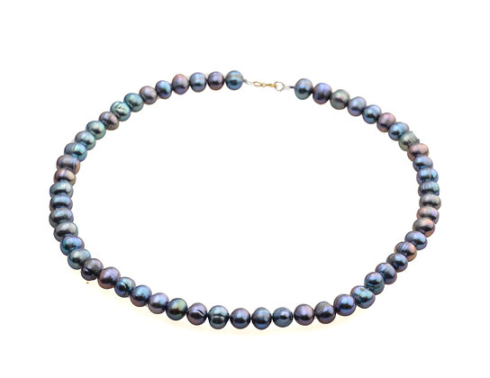 "The ""Mermaid"" IrredescentFreshwater Pearl Necklace"