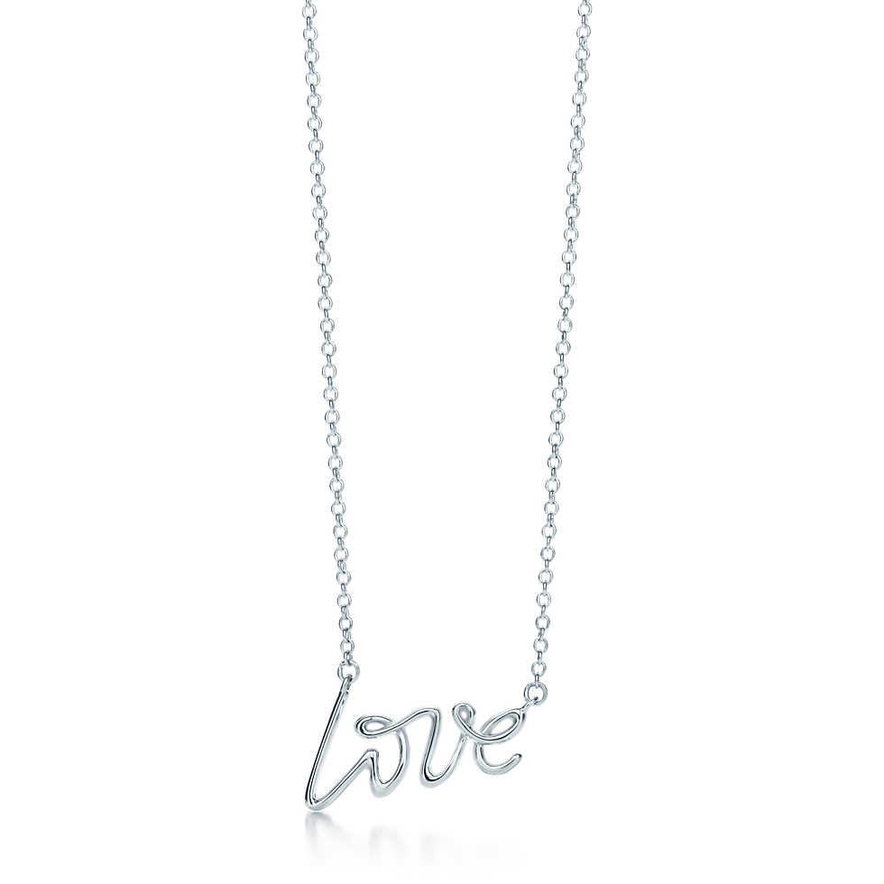 Tiffany's Love Pendant