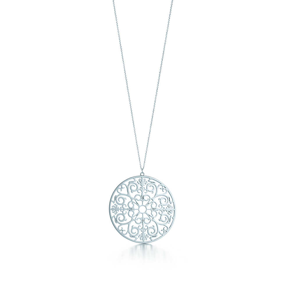 Tiffany Enchant round pendant