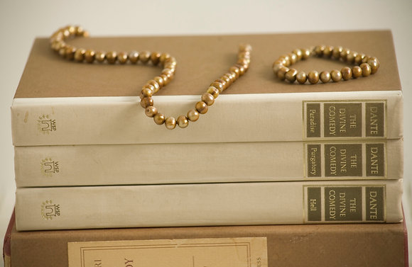 """The """"Monroe"""" Golden Freshwater Pearl Necklace"""