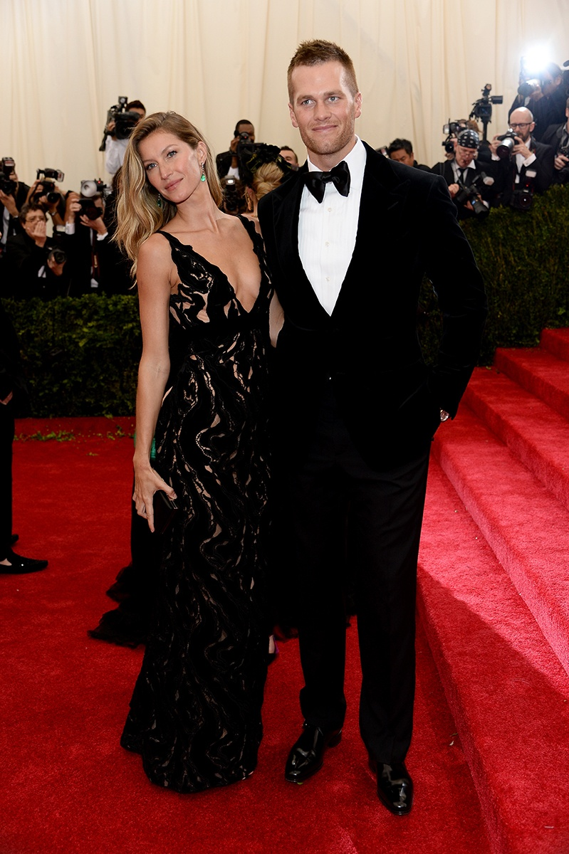 Gisele Gundchen and Tom Brady