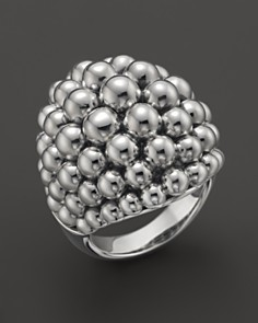 Lagos Signature caviar ring