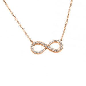 S&S Infinity Crystal Pendant