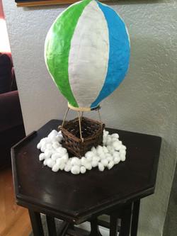 Papier Mache Balloons- Boy Sprinkle
