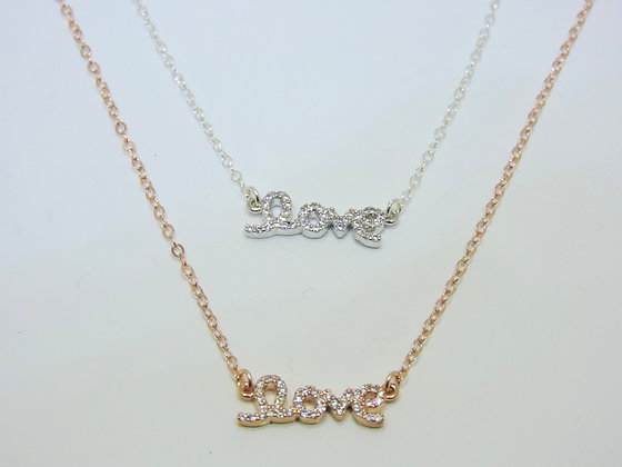 Crystal Love Necklace