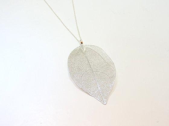 Karma Leaf Necklace--- Long